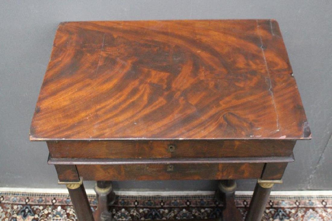 Antique Flip Top Dressing Table - 3