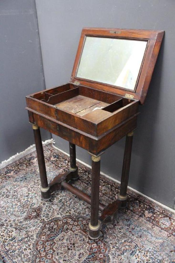 Antique Flip Top Dressing Table - 4
