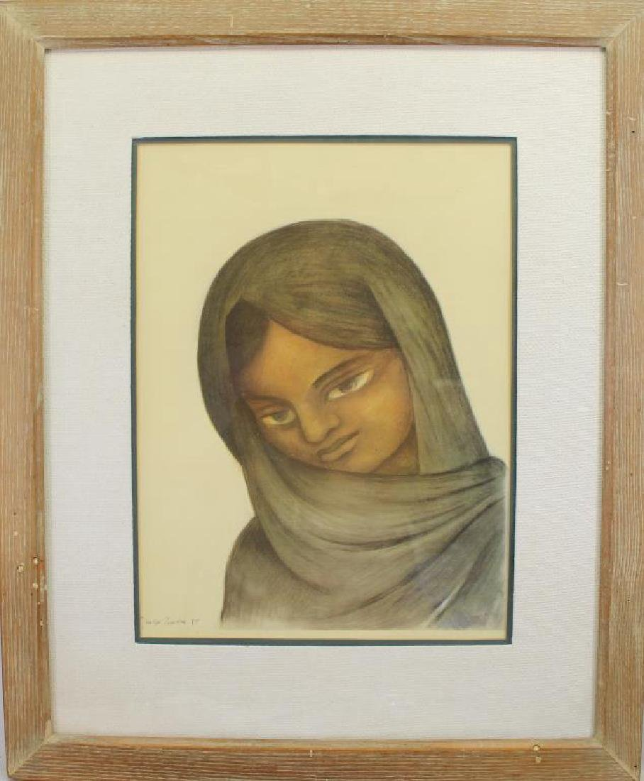 Diego Rivera (1886 - 1957) Framed Print