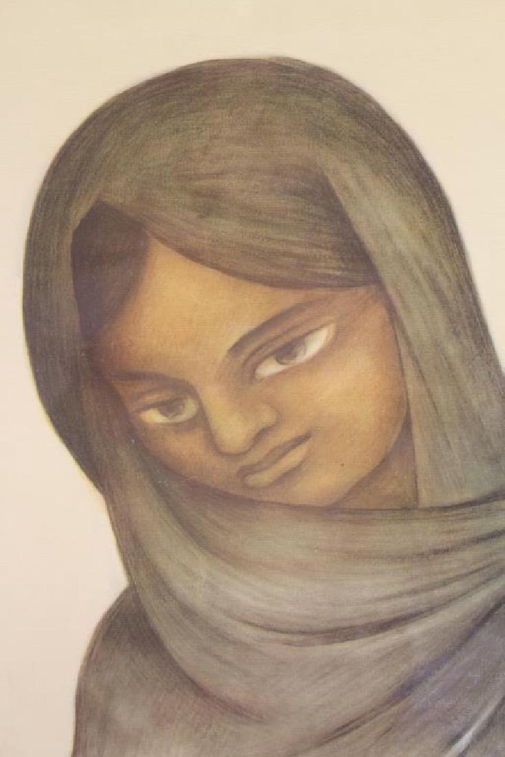 Diego Rivera (1886 - 1957) Framed Print - 2