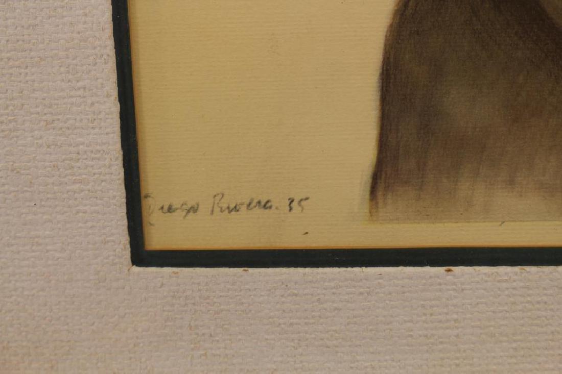 Diego Rivera (1886 - 1957) Framed Print - 3