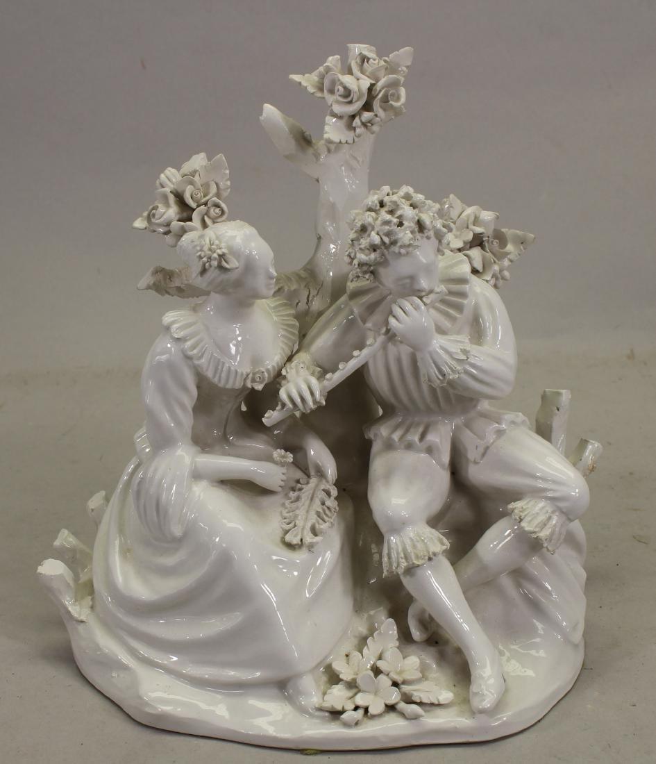Italian Porcelain Figurine Grouping