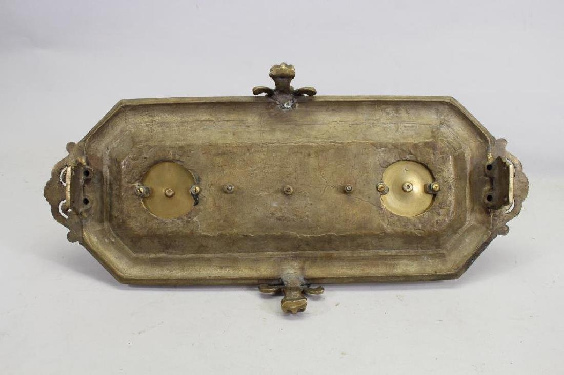 Antique Bronze Inkwell - 6
