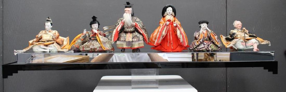 Japanese Dolls in Custom Plexiglass Case