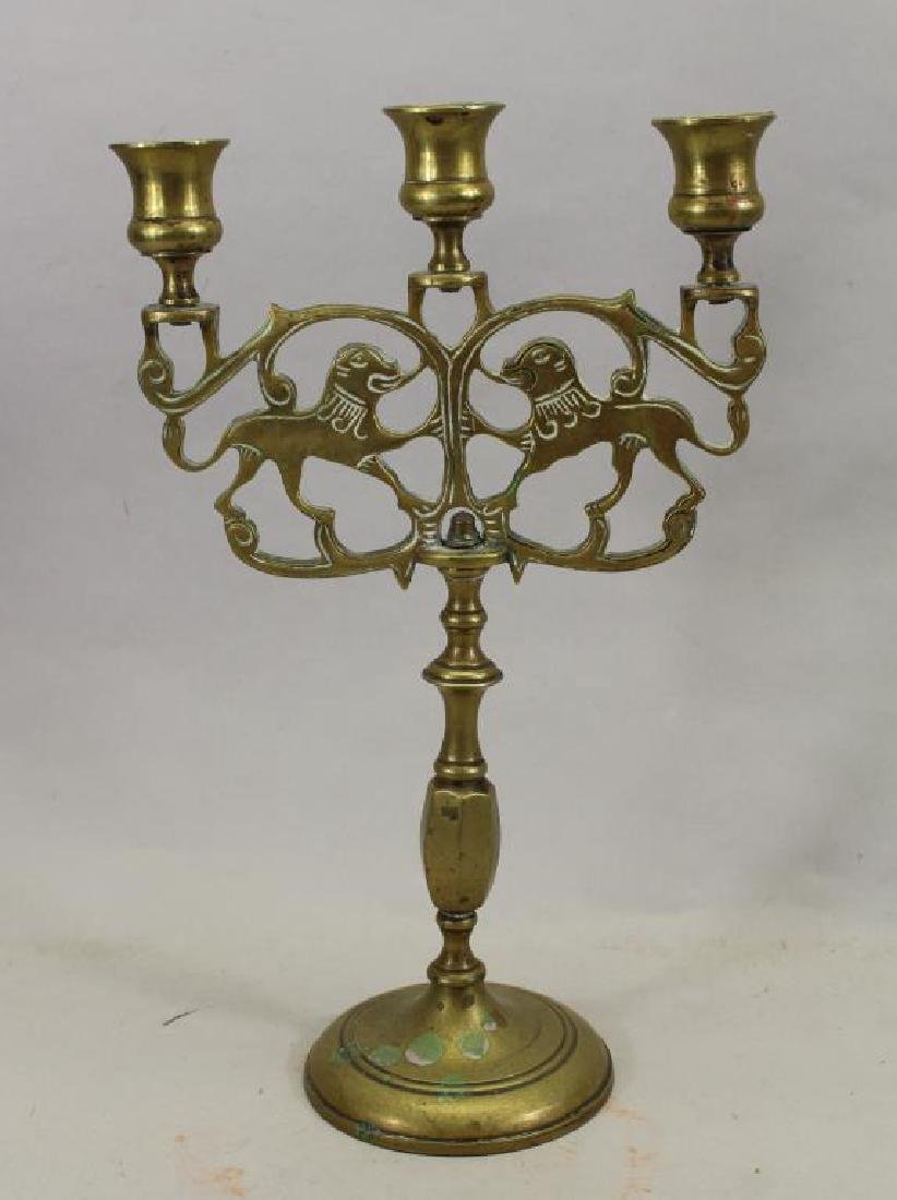 Early 20th C. Jewish Candlestick