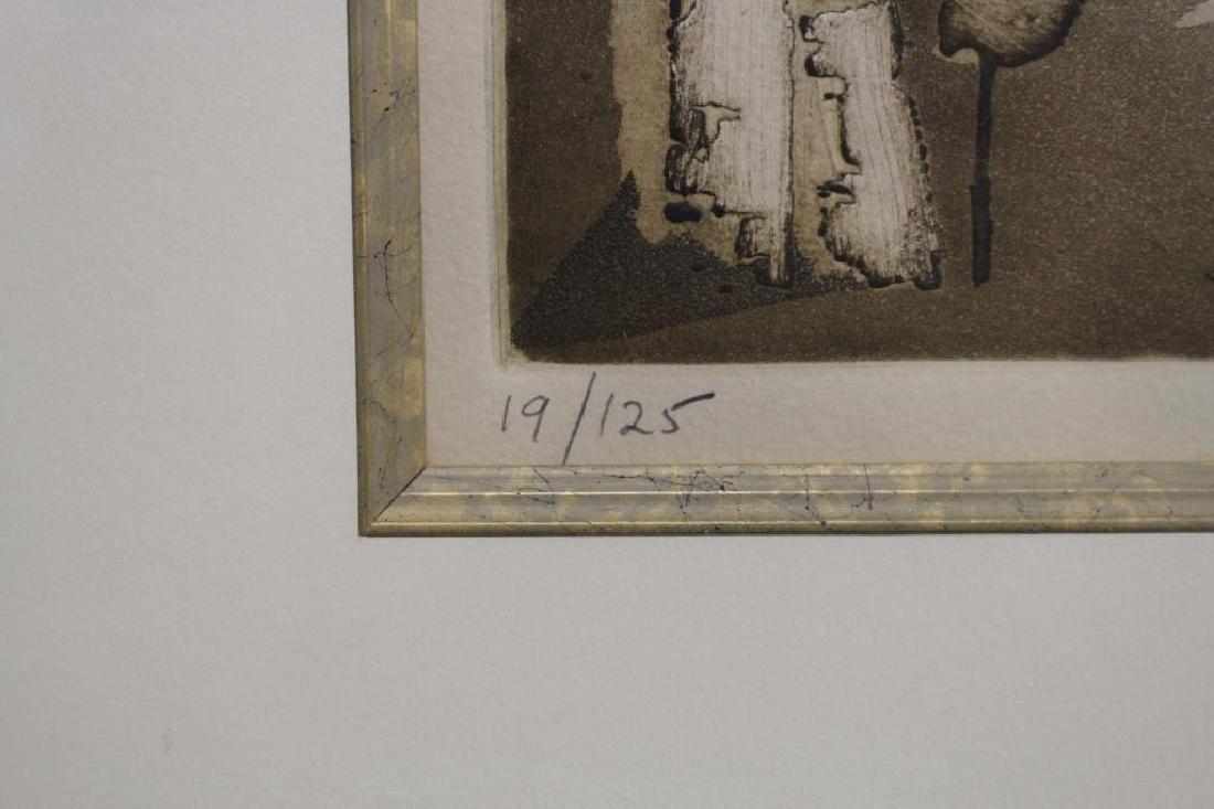 """Perugia"" 19/25 signed lithograph - 3"
