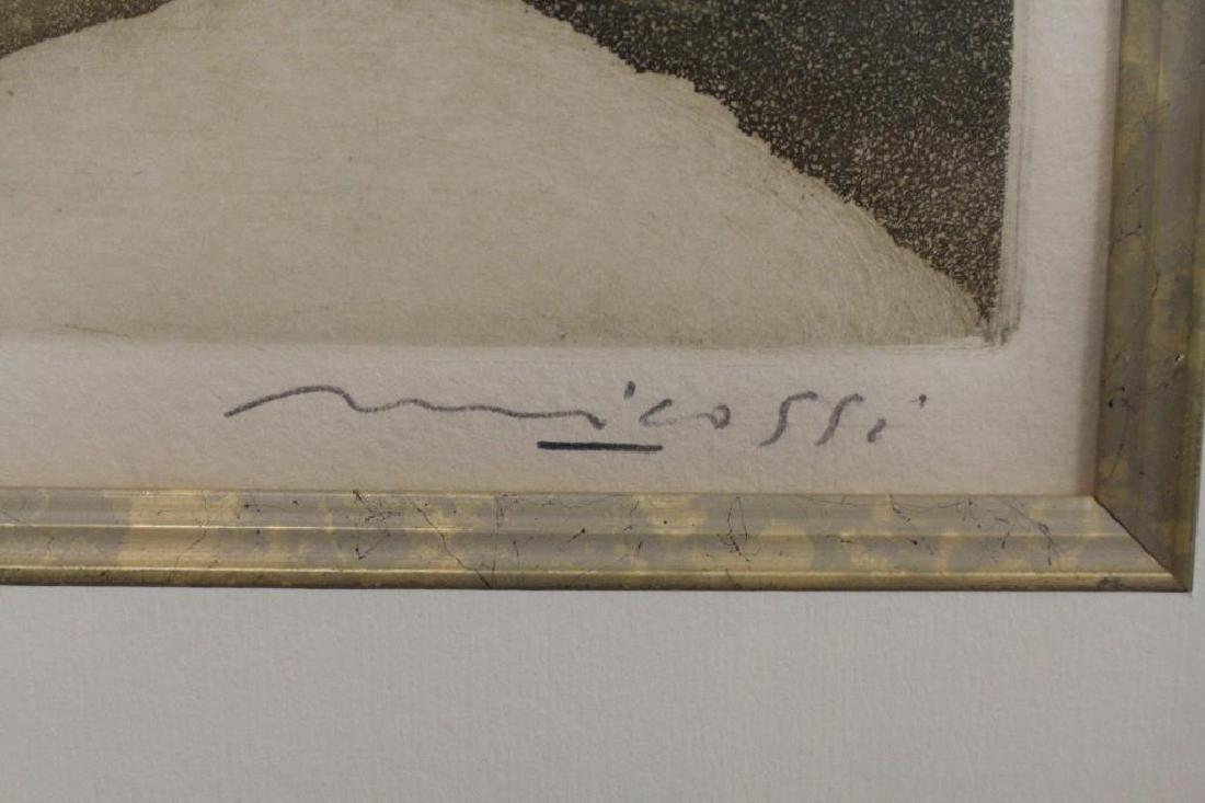 """Perugia"" 19/25 signed lithograph - 5"