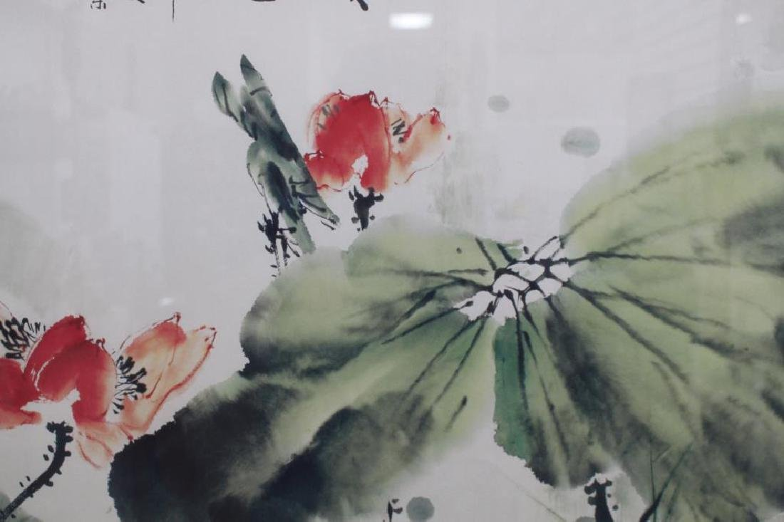 Calligraphy Signed Japanese Print - 4
