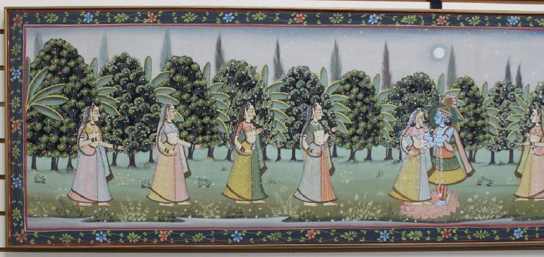 20th C. Painting of Wedding Procession, India - 2