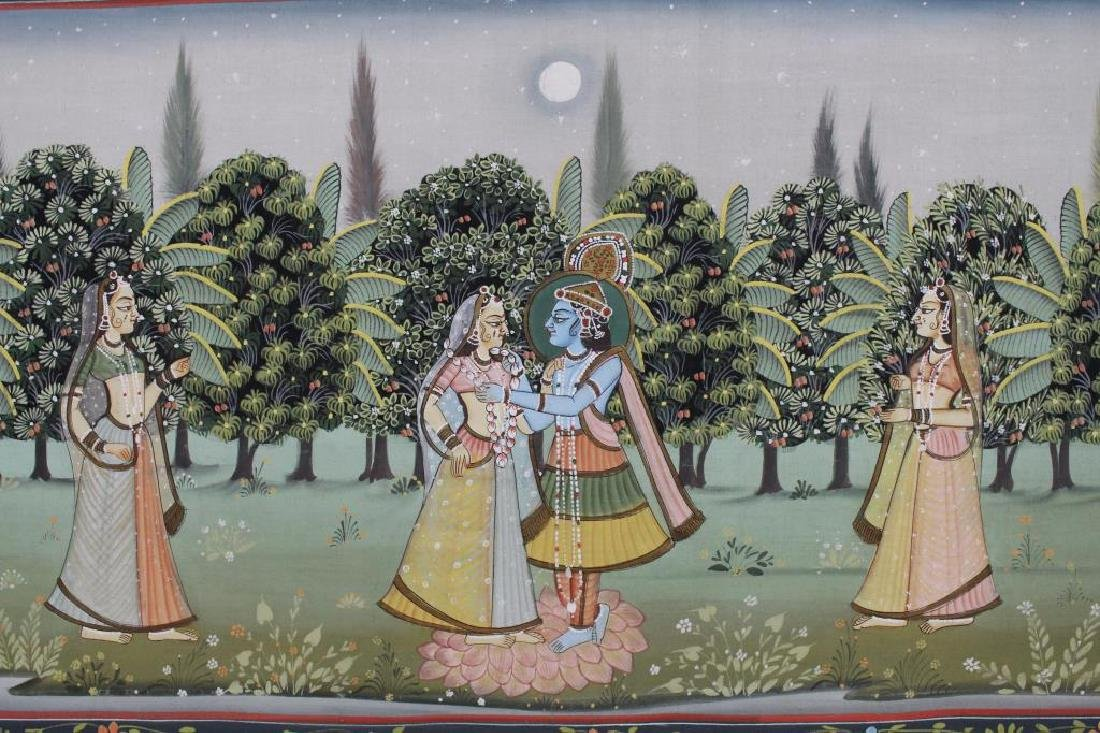 20th C. Painting of Wedding Procession, India - 4
