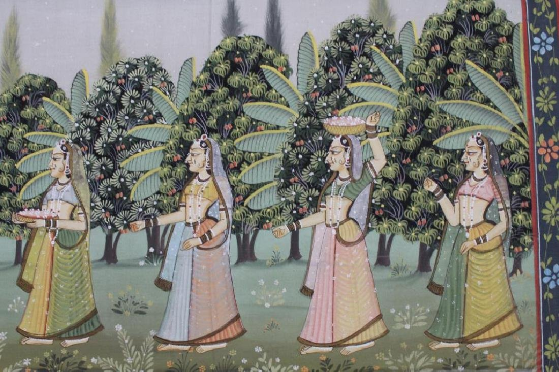 20th C. Painting of Wedding Procession, India - 5