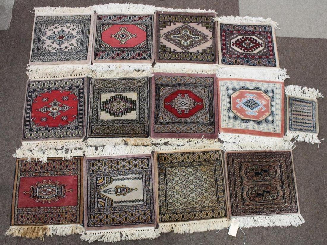(13) Lot of Persian Rug Place Mats