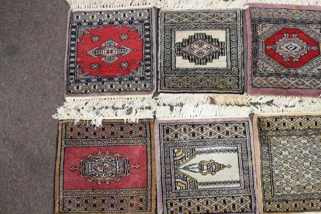 (13) Lot of Persian Rug Place Mats - 2
