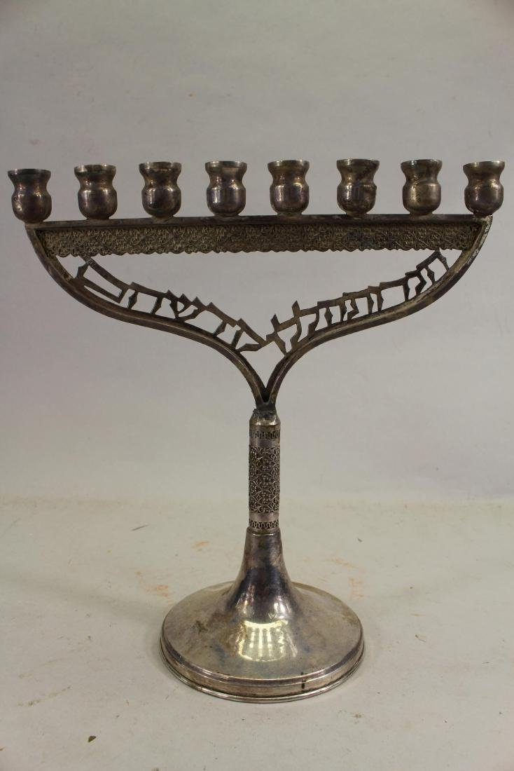 Antique Silverplate Menorah