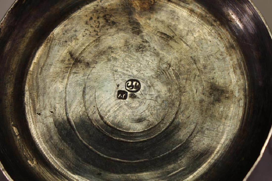 (2) Sterling Monogrammed Trophies - 6