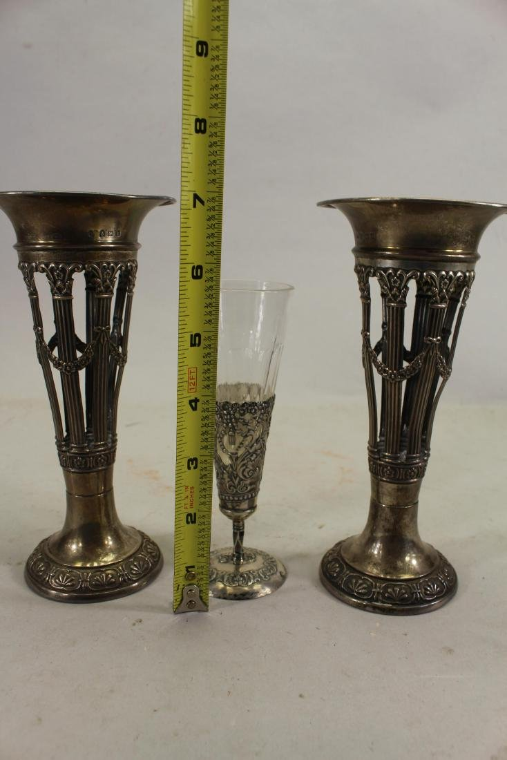 Victorian, Silver Vases - 2