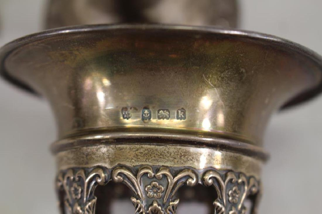 Victorian, Silver Vases - 3