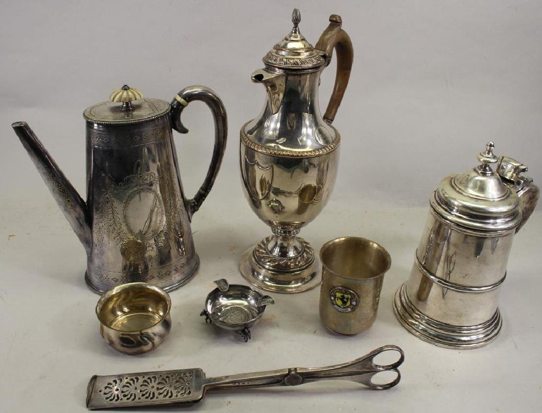 (7) Assorted Silverplate Articles