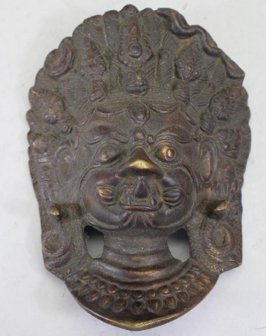 Antique Bronze Thai Garuda Bust