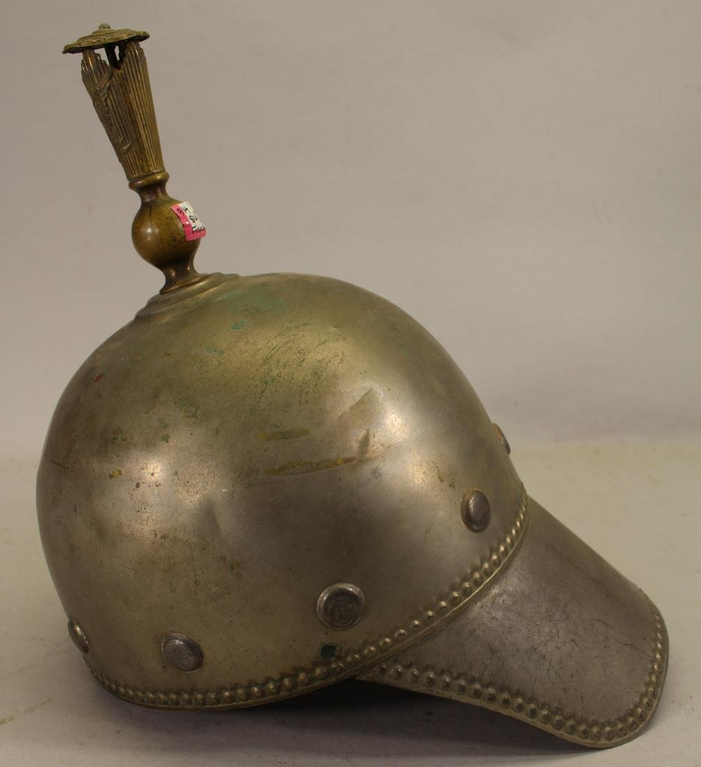 French, Antique Fireman's Helmet