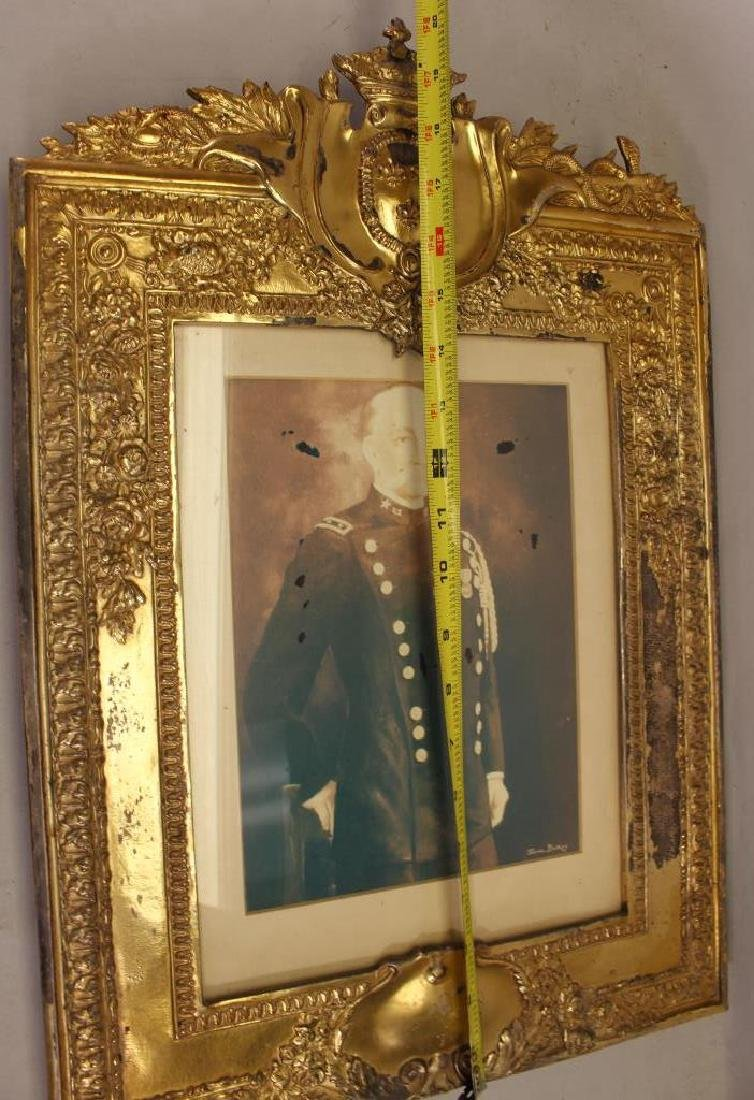 Antique Gilt Metal European Style Frame - 4