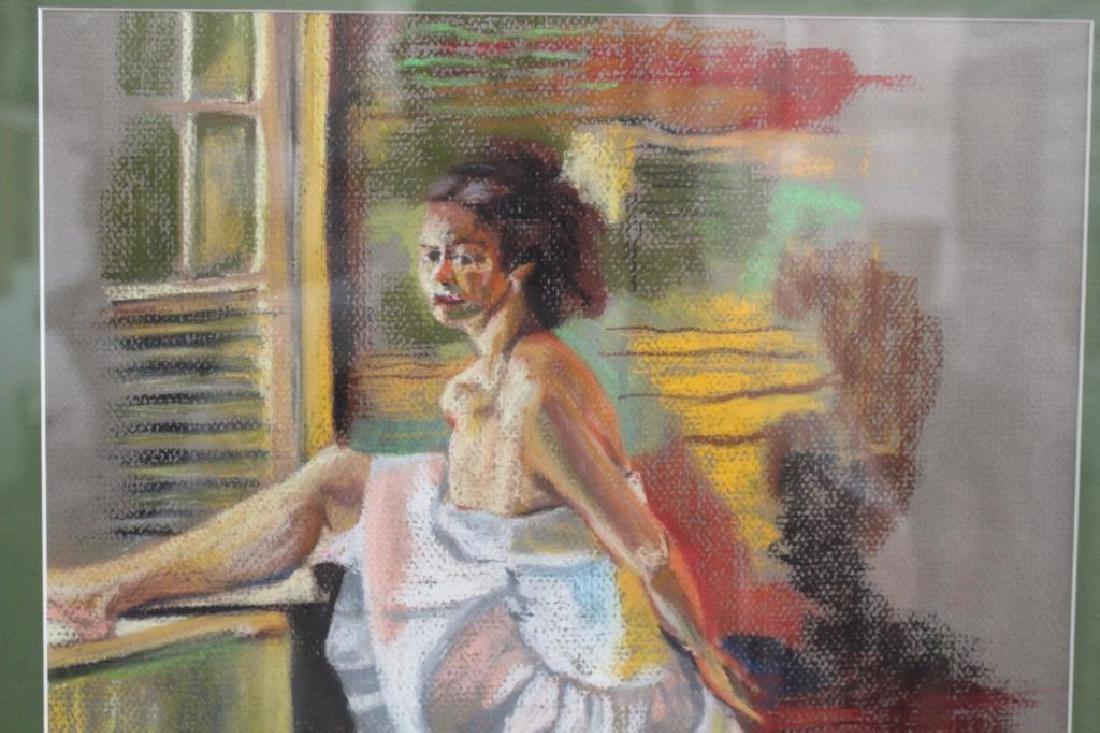 Signed Pastel of Ballet Dancer, 20th C. - 3