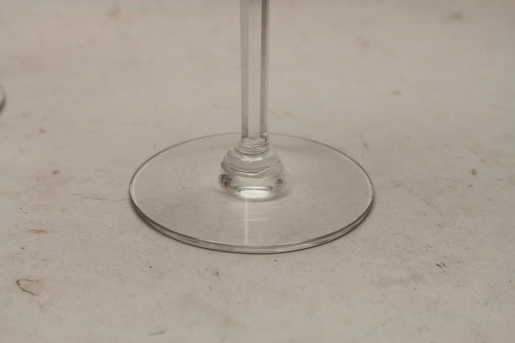 (4) Signed Cartier Wine Glasses - 2