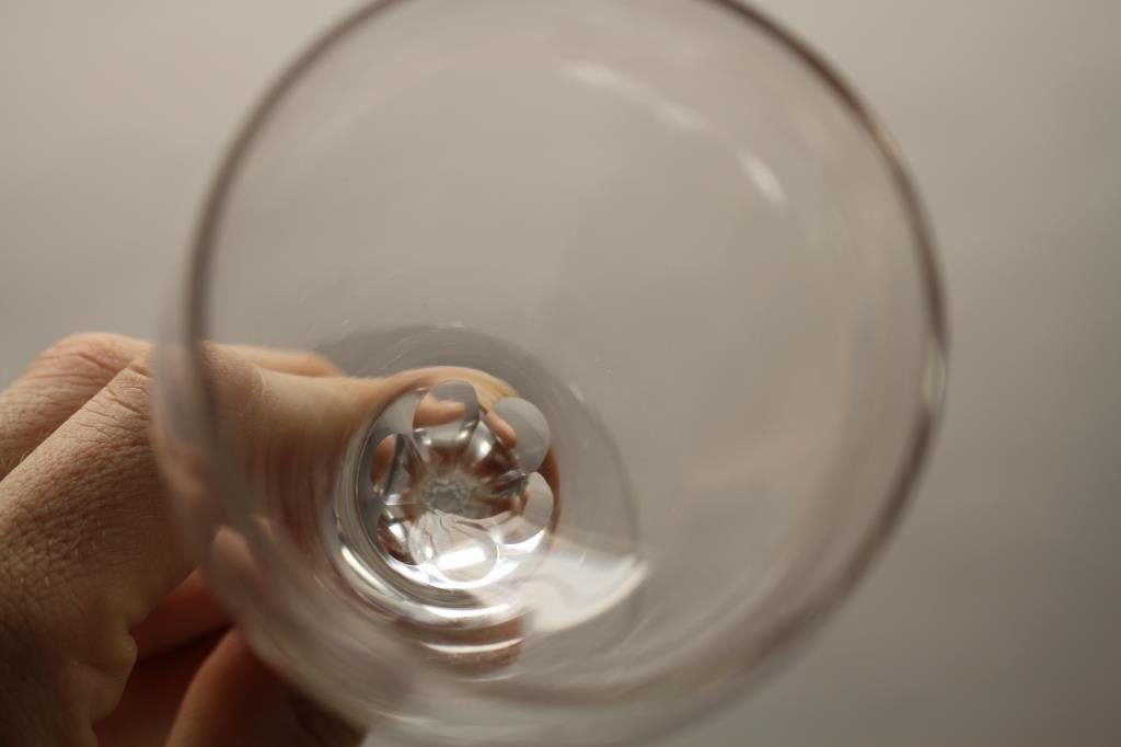 (4) Signed Cartier Wine Glasses - 5