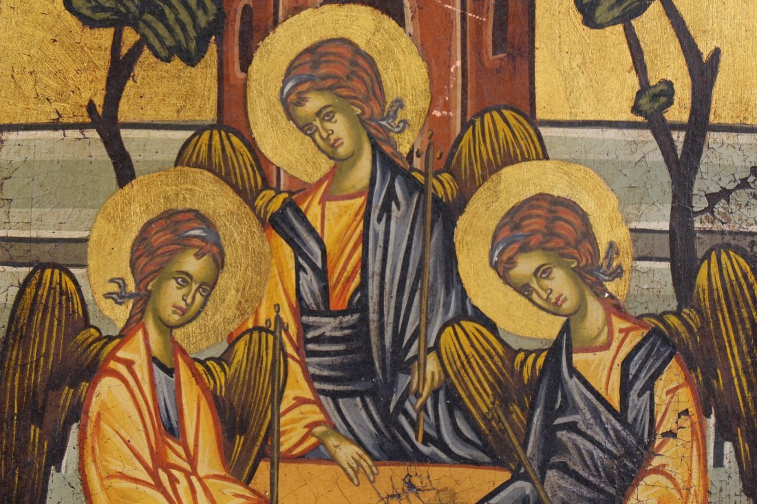 "Russian Icon ""The Holy Trinity"" - 2"