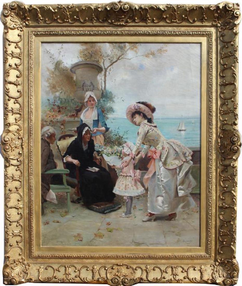 Emile Auguste Pinchart (1842 - 1924)