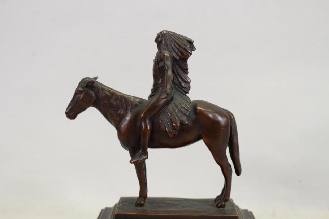 After Cyrus Dallin (1861 - 1944) Bronze - 5