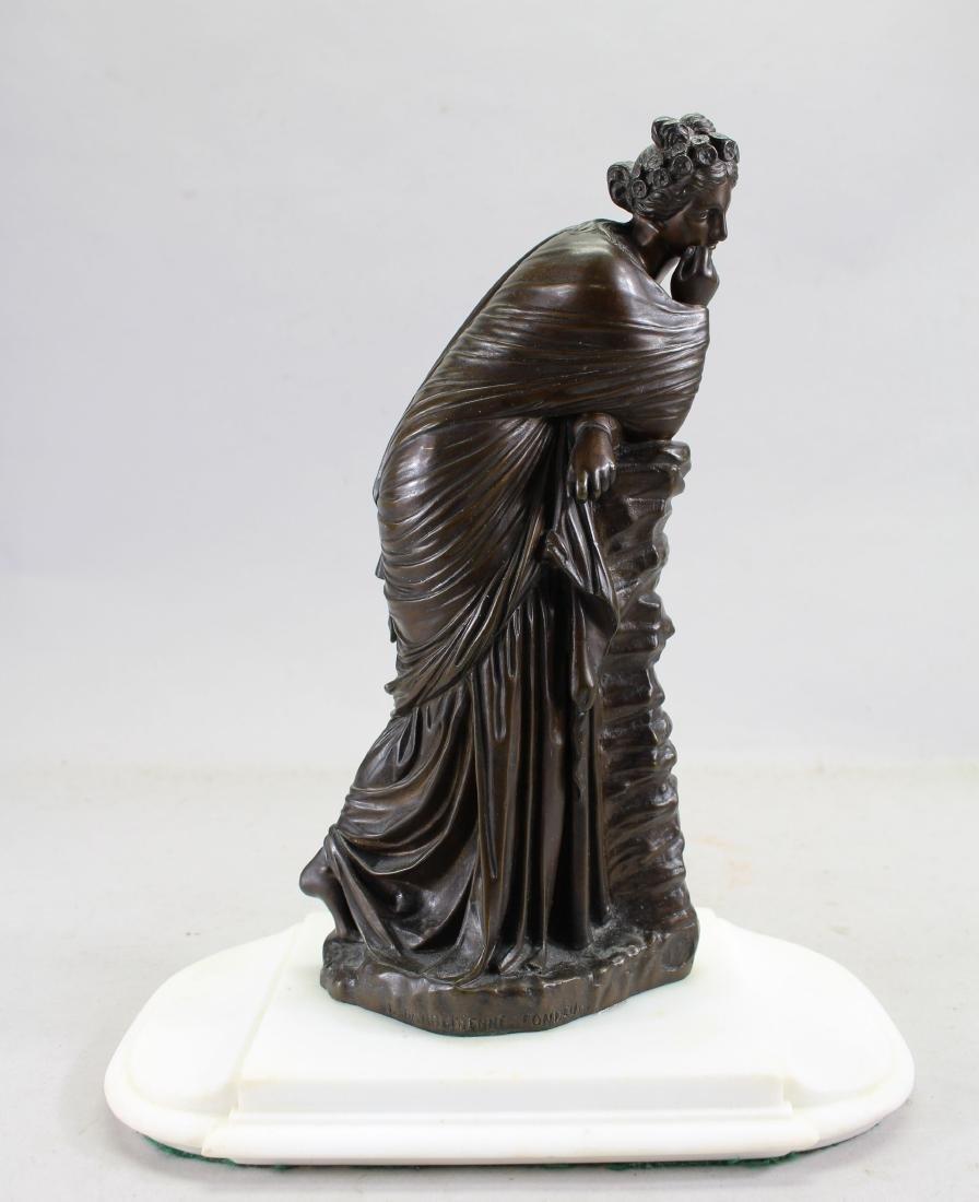 "Bronze Barbedienne Woman ""Polymnia"""