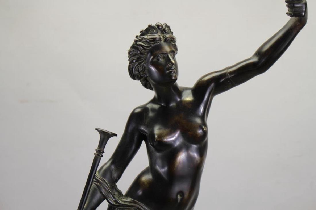 Signed, Bronze Mercury After Giambologna - 2