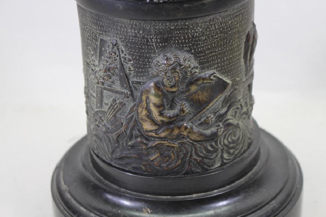 Signed, Bronze Mercury After Giambologna - 5