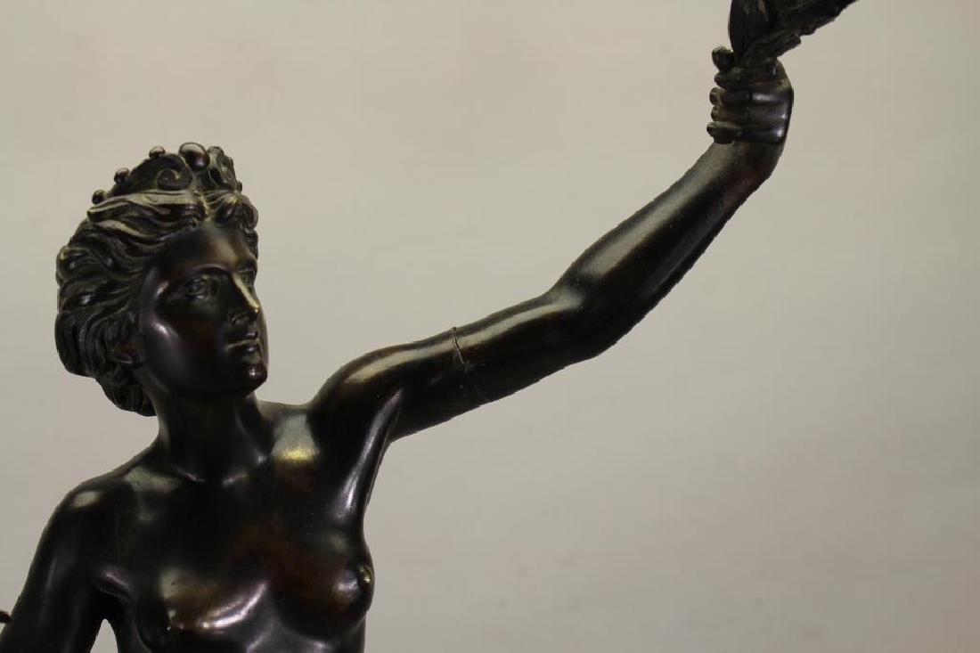 Signed, Bronze Mercury After Giambologna - 6