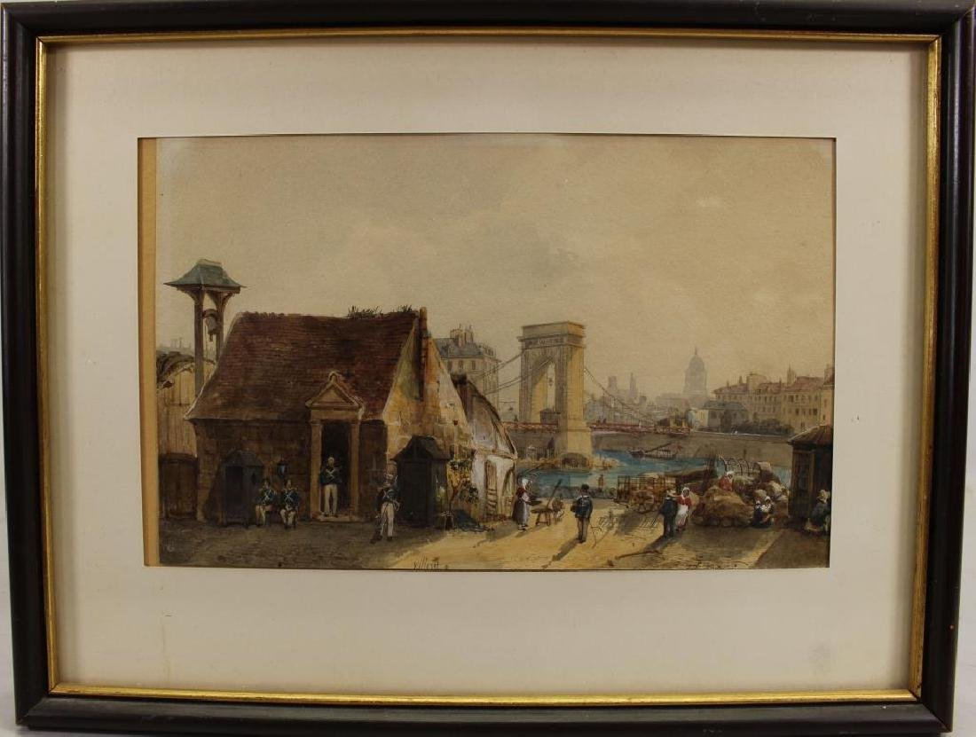 Francois Etienne Villeret (1800 - 1866)