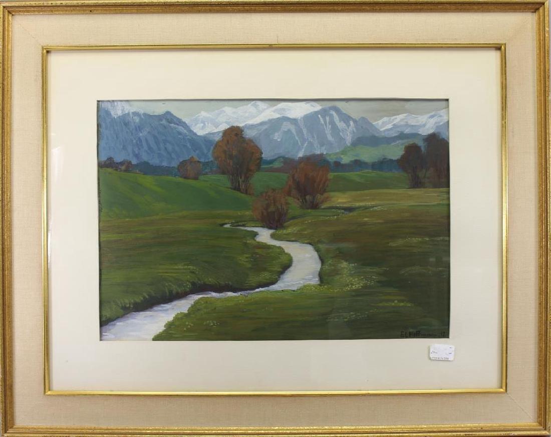 E.L. Hoffmann, 20th C. American Landscape