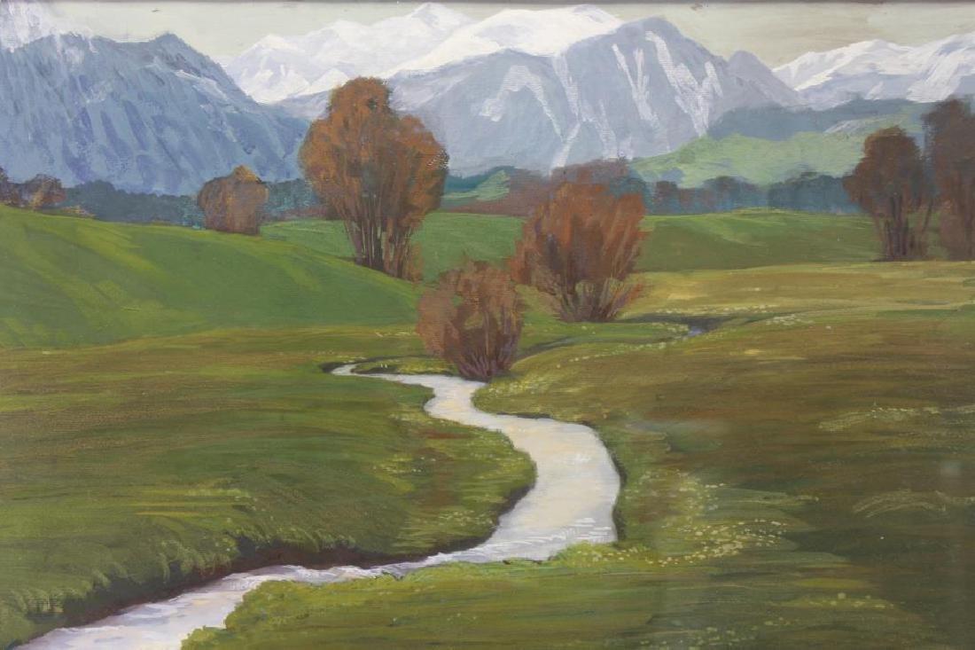 E.L. Hoffmann, 20th C. American Landscape - 2