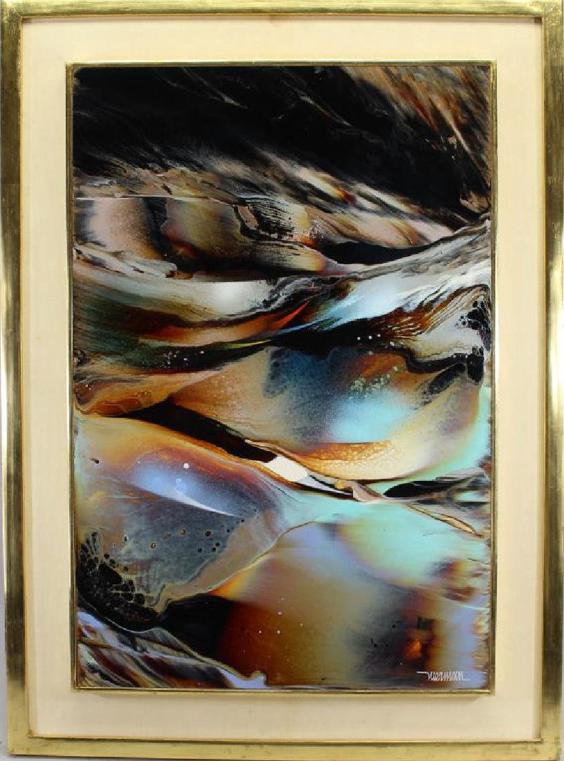 "Leonardo Nierman  (born 1932)  Abstract ""Genesis"""