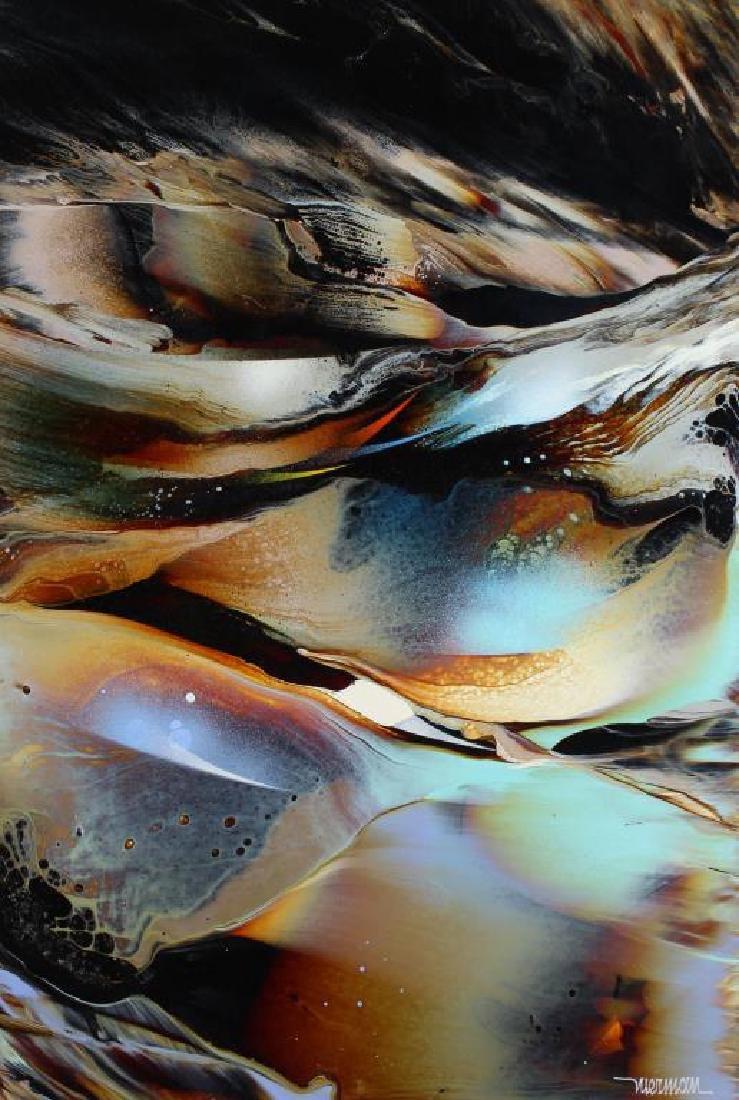 "Leonardo Nierman  (born 1932)  Abstract ""Genesis"" - 2"