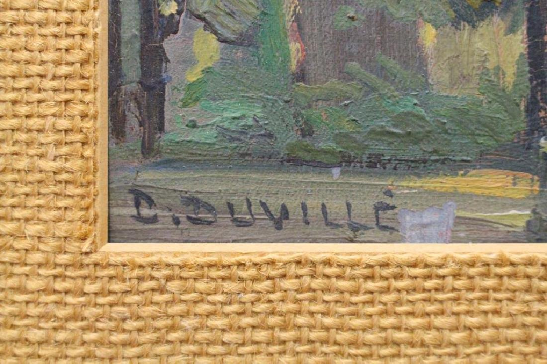 D. Duville, Signed Painting of a Mission - 5