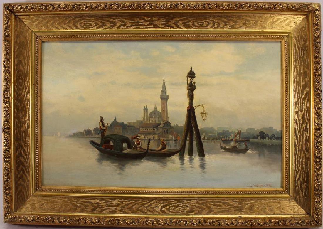 Karl Kaufmann (1843 - c. 1901/05) Venice