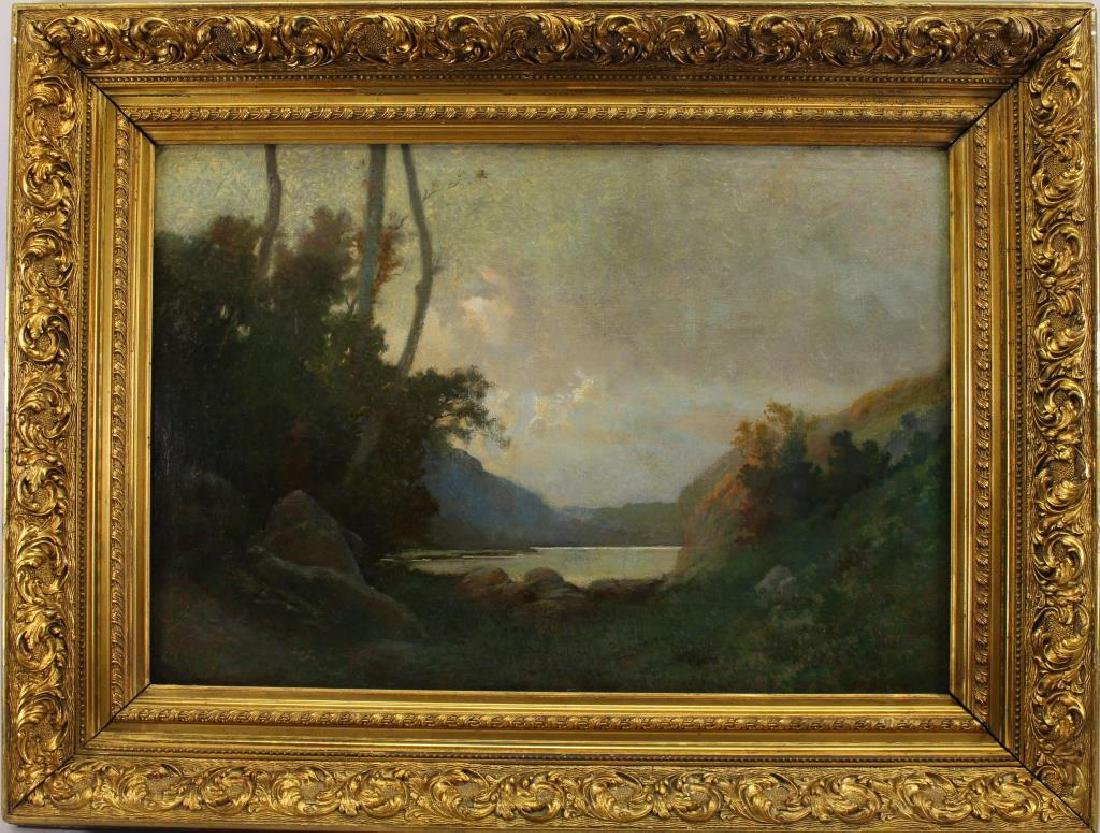 French School, Signed 19th C. Landscape