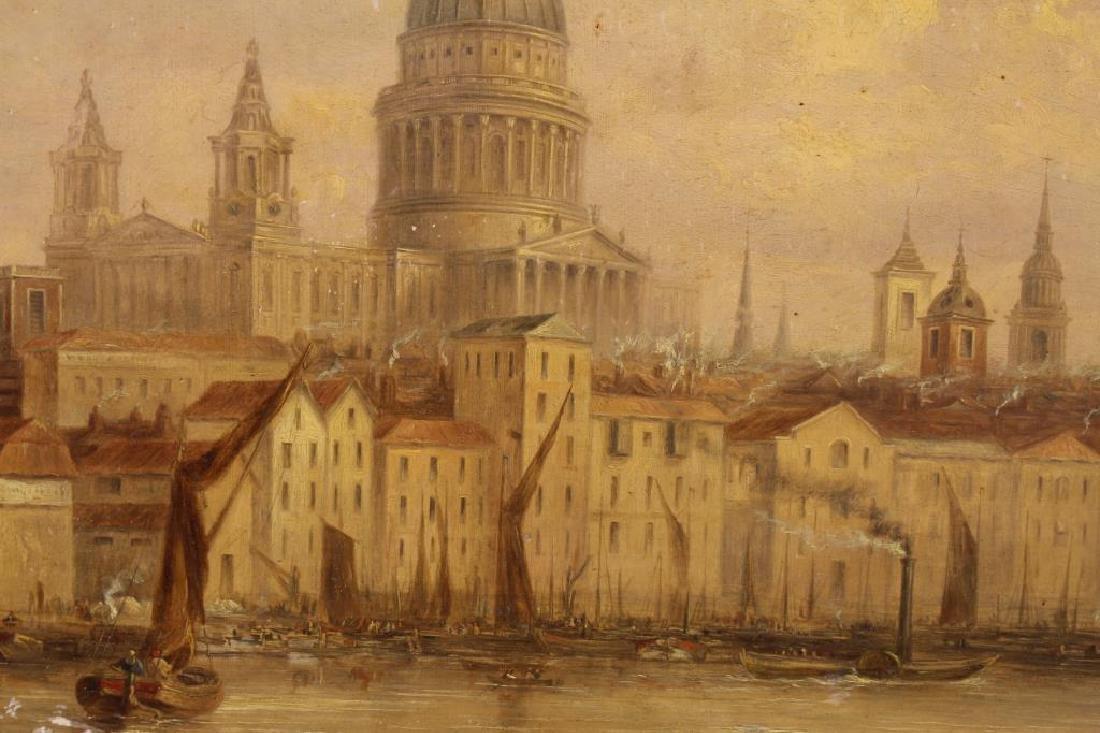 William Parrott (UK, 1813-1869) Church of St. Paul - 2