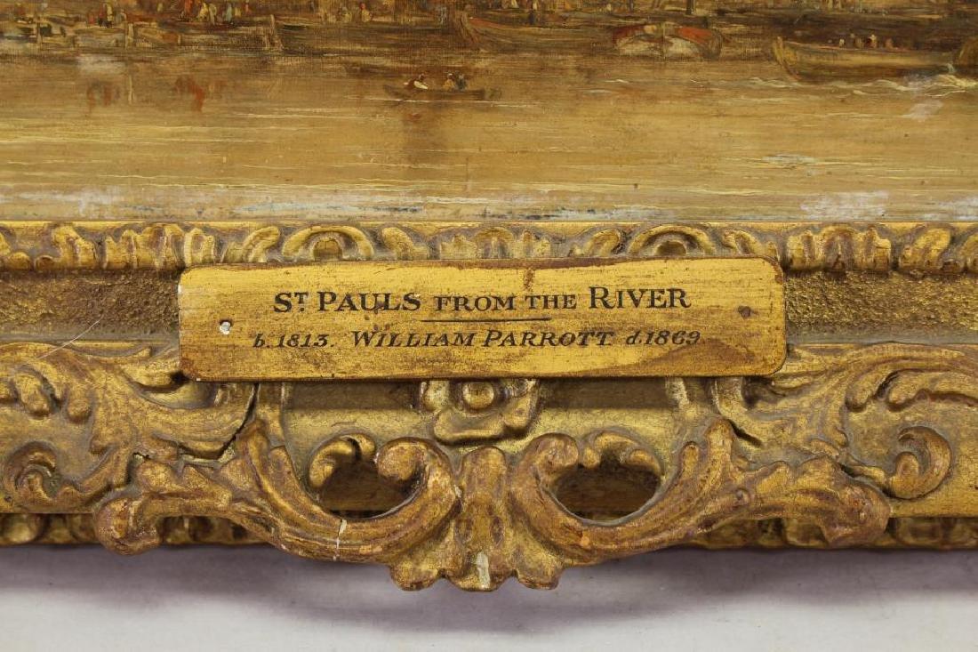 William Parrott (UK, 1813-1869) Church of St. Paul - 4