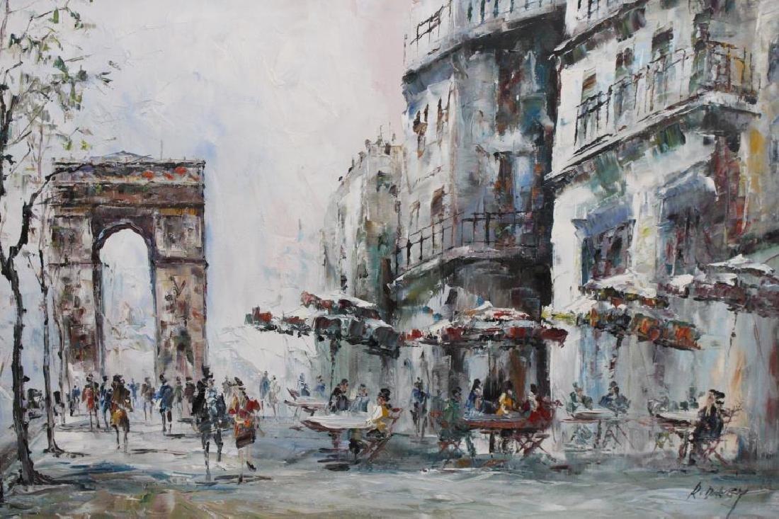 Randall Davey - Paris Street Scene - 2