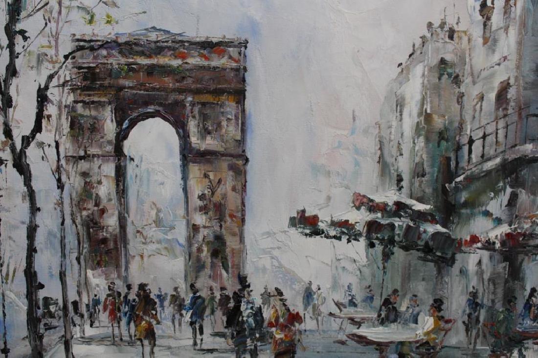 Randall Davey - Paris Street Scene - 4