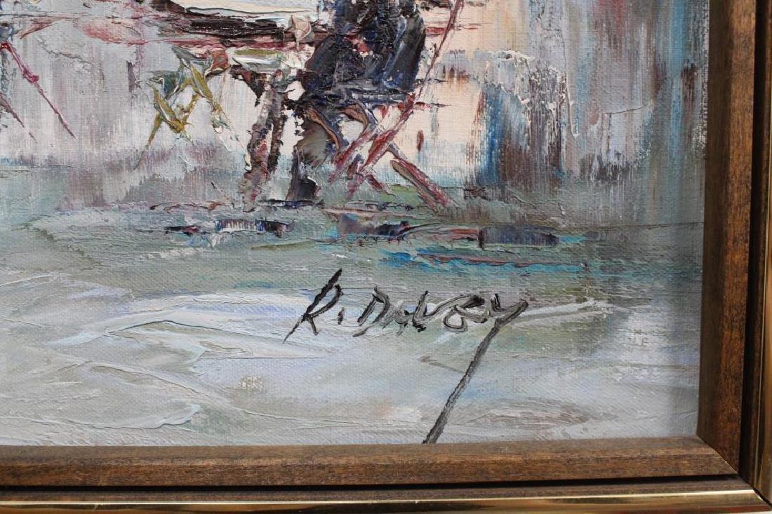 Randall Davey - Paris Street Scene - 5
