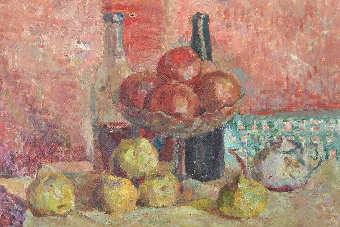Signed, French School Still Life of Fruit - 2