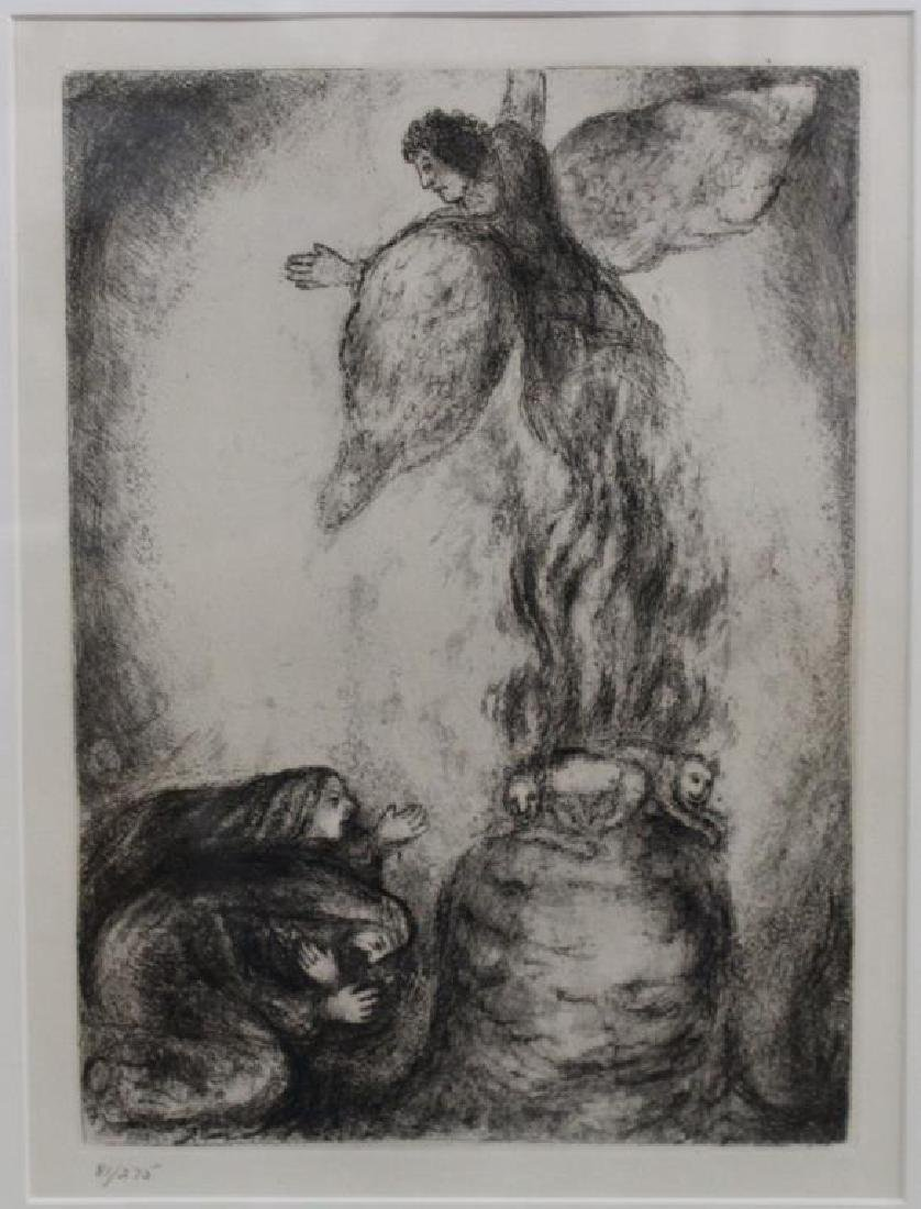 After Chagall, Lithograph 81/275